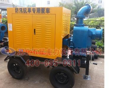 内涝排水移动式泵站(车)