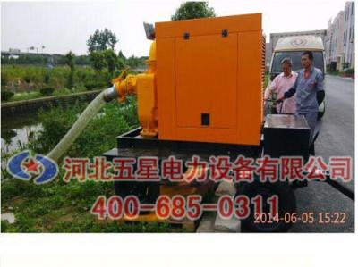 防洪排涝移动式泵站(车)